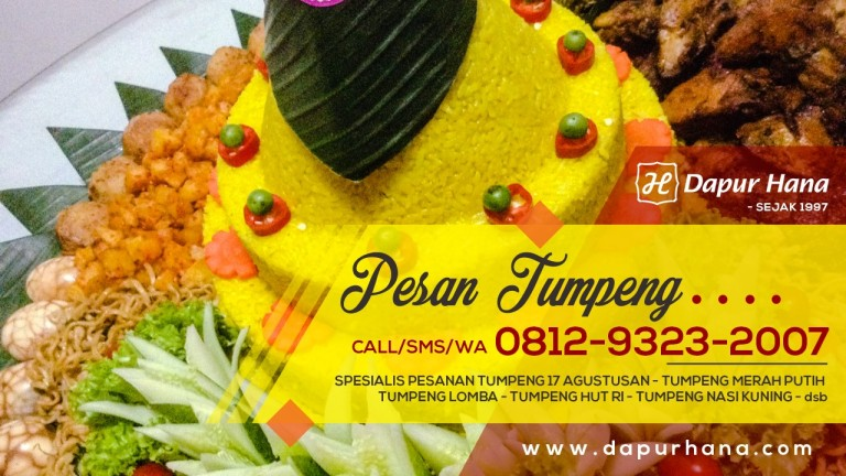 Harga Nasi Tumpeng di Bekasi, Tumpeng Murah dan Enak, Pesan Tumpeng Bekasi